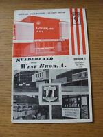 04/05/1968 Sunderland v West Bromwich Albion  (Item has no apparent faults)