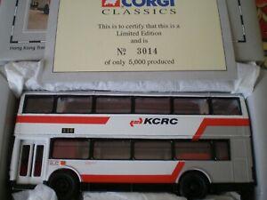 Corgi bus Kowloon-canton Railway Corporation Hong Kong