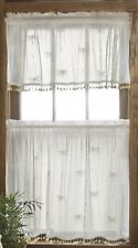Heritage Lace Valance Dragonfly with TRIM WHITE Made in USA