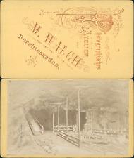 Allemagne, Deutschland, Bayern, Berchtesgaden, mines de sel, circa 1870 CDV vint