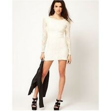 MOTEL DAMITA DRESS LACE WITH LOW BACK  SIZE S(UK8-10)