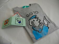 MONOPOLY FAN GIFTS   Long Sleeved Top Size S and MONOPOLY Travel Pass Holder  BN