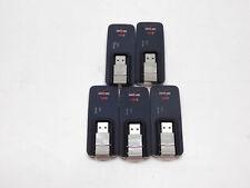 Lot of 5 Verizon MiFi 4G LTE Model MC620 USB Mobile Hotspot Modem Used