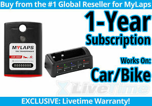 MyLaps TR2 Car/Bike Rechargeable Transponder w/ 1-year Subscription