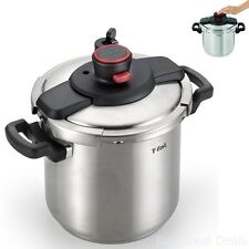 T-fal P45009 CLIPSO Stainless Steel Dishwasher Safe PTFE PFOA and Cadmium
