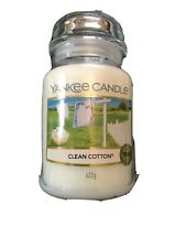 Yankee Candle Clean Cotton . Large  Jar