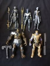 Marvel Legends MCU Black Order Thanos, Kull Obsidian, Proxima, Corvus, Ebony Maw