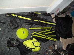 Nike Sparq Training Lot - Hurdles, Agility Ladder, Parachute, Markers, Resistan