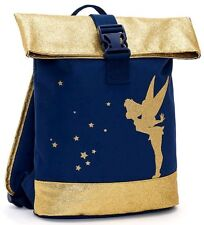 Disney Store Tinkerbell Fairy Backpack Bag Weekend Travel Gym School Glittery