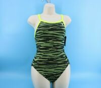 Womens Sz 34 TYR Swimsuit One Piece Racing Competition Diamondfit UPF 50+#D67