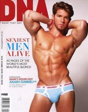 DNA Magazine #152 gay men SEXIEST MAN ALIVE - JULIAN GABRIEL