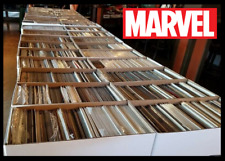 50 Comic Book HUGE lot - All DIFFERENT - Only Marvel Comics - FREE Shipping!