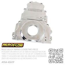 AEROFLOW BILLET TIMING COVER V8 LS1/LS2/LS3 HOLDEN VT-VX-VY-VZ-VE-VF COMMODORE P