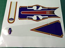 Montesa 4RT rothman's style fender/garde-boue decal set