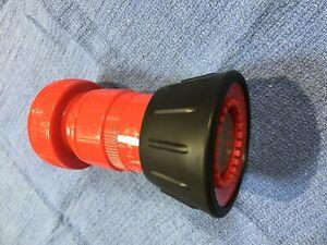 "FNB150NST 1-1/2"" NST HN4-L Fire Hose Fog Nozzle with Bumper Dixon Valve new"