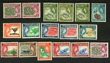 PITCAIRN ISLANDS 1953-67 QEII ALL PRE-DECIMAL SETS + MORE MNH