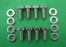 FORD CROSSFLOW engine mounts st/steel hex head bolt kit - XFlow Escort Cortina