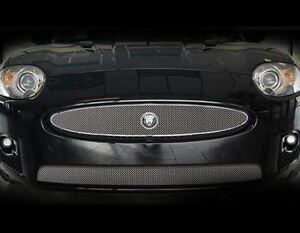Jaguar XKR Lower Mesh Grille OE Style Bright Mirror finish  2007 - 2011 models