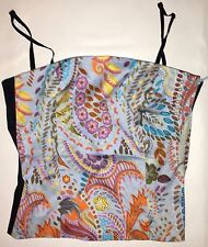 WOMEN'S 2P, FLORAL, STRETCH SPAGHETTI STRAP TOP BY BEBE!