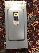 Square D 100 amp fused Safety Switch