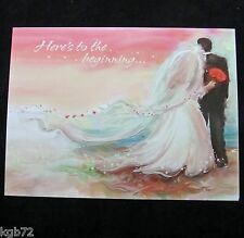 Leanin Tree Wedding Marriage Love Greeting Card Multi Color R164