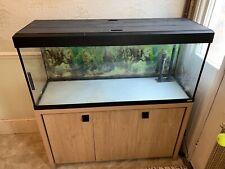 Fluval roma 240 aquarium and cabinet
