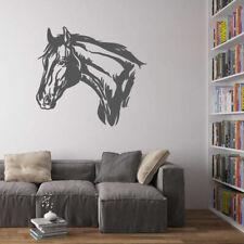 ik696 Wall Decal Sticker head horse nag pet stallion thoroughbred horse bedroom