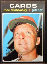 1971 Topps #685 MOE DRABOWSKY St. Louis Cardinals Near Mint Plus NM+