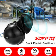 300DB 12V Electric Snail Auto Air Horn Loud Sound For Car Motorcycle Truck Boat