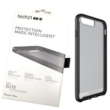 Tech21 EVO Elite Durable Case Cover For iPhone 7 Plus/iPhone 8 Plus Brushed Blac
