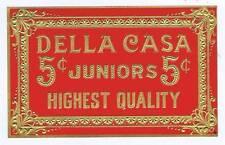 Della Casa, original outer cigar box label