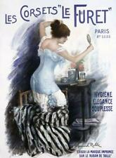 Manuel Robbe Corsets Le Furet Fashion Giclee on acid free paper