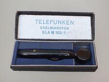 Telefunken Microphone Type: ELA M102/1 Vintage  in Original Box
