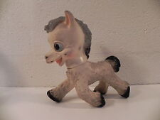 JOUET ANCIEN POUET A L' ELEPHANT ITALY ANE SQUEAKY PUPPAZO