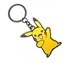 RETRO Pokemon Pikachu Keychain (Metal) Officially Licensed Pokemon Accessories