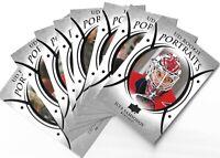 2018-19 Upper deck Series 2 Rookie Portrait cards P-51-100 Elias Pettersson SP