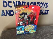 "SpiderMan 10"" Water Web Blasters Adventure Hero Action Figure/Aqua Cannon-Toybiz"