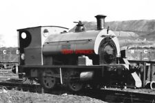 PHOTO  LOCO 'DAVID' AE 1927. AT BOLSOVER COLLERY 8/3./64.
