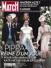 PARIS MATCH N°3549 24 MAI 2017  PIPPA MIDDLETON/ MACRON/ CANNES GLAMOUR/ MADOFF