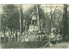 Berlin, Germany statue of Jahn Denkmal, gymnast used postcard 1907