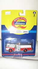 "Athearn HO scale Fire Truck (Engine) Ford ""C"" Cab Red and White  ATH 92017"