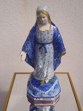 Vierge faïence Quimper Ave Maria HR Quimper 19ème