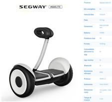 Segway miniLITE Hoverboard Bianco 16 km/h 12,5kg elettrico resistenze all'acqua