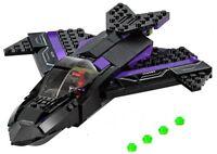 NEW LEGO BLACK PANTHER'S JET vehicle 76047 no figures/box civil war movie toy