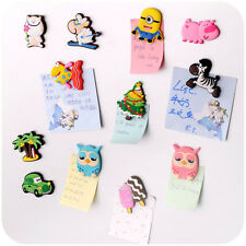 2x Funny Cartoon Animals Fridge Magnet Sticker Refrigerator Gift Home Decor