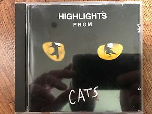 Highlights from Cats CD 1981 Original London Cast Soundtrack w/ Elaine Paige