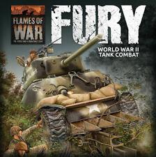 Flames of War Late War Ww2 Fury: World War Ii Tank Combat Starter Set (Fwbx10)
