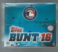 2016 Topps Bunt Baseball Factory Sealed Hobby Box