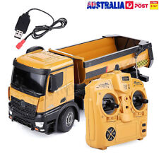 Huina 1:14 RC Truck 10-CH Remote Dump Truck Toy Kids RD1Y Remote Control Truck