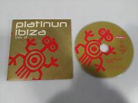 PLATINUN IBIZA VOL 2 - SINGLE CD 5 TRACKS CARD SLEEVE MEGA RARE PROMOTIONAL